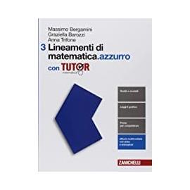 Lineamenti di matematica.azzurro 3 con tutor