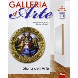 Galleria d'arte. Linguaggio visuale. Con storia dell'arte. Con artlab
