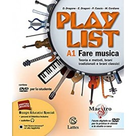Playlist A1 A2 B con DVD e Note e accordi